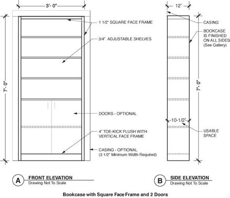 bookcase plans with doors door bookcase plans woodwork