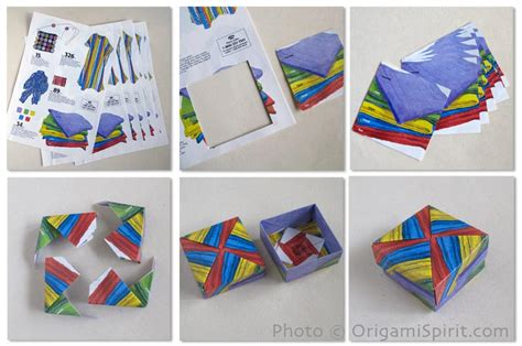 modular origami boxes treasures from patagonia in modular origami boxes
