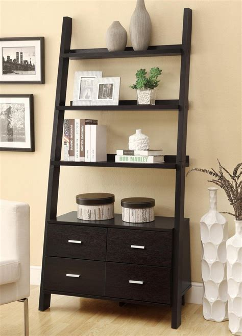 leaning ladder shelves best 22 leaning ladder bookshelf and bookcase collection