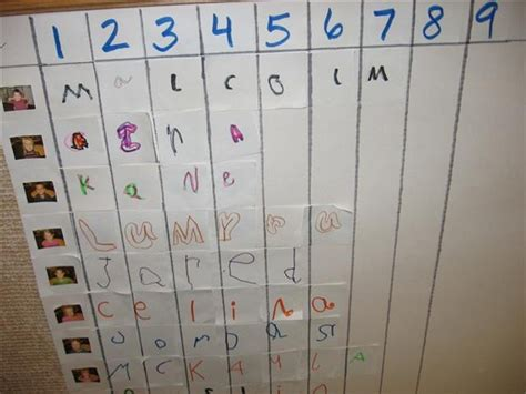 how many of each letter are there in scrabble 17 best images about names on kindergarten
