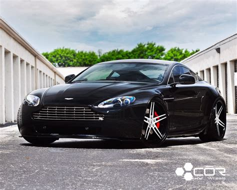 Ford Focus Aston Martin by A Black Aston Martin Vantage W Cor Focus Wheels