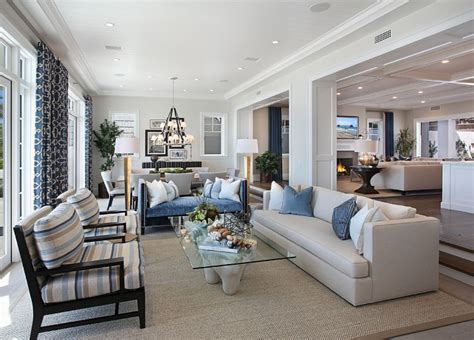 open kitchen dining and living room floor plans ultimate california house with coastal interiors