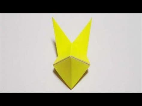 origami fox mask 折り紙 origami 狐の面 fox mask