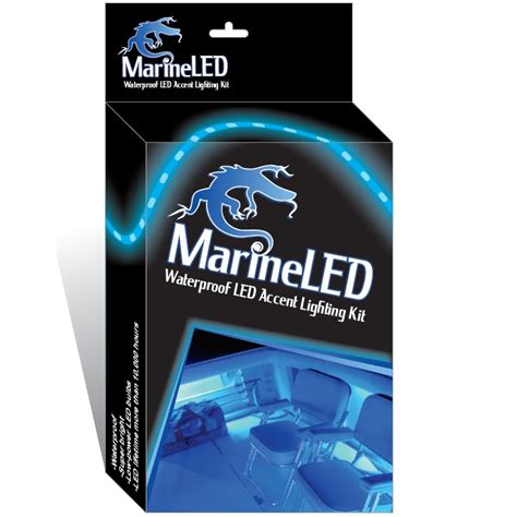 boat led light strips wireless blue led boat accent lights kit waterproof bright