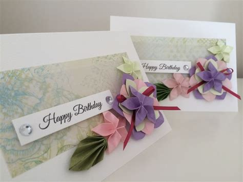 birthday origami ideas the 27 best images about origami greeting cards chie no