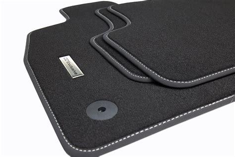 tapis de sol pour voiture et logo en acier inoxydable pour audi a3 8p 8pa 2003 2012 tapis de sol