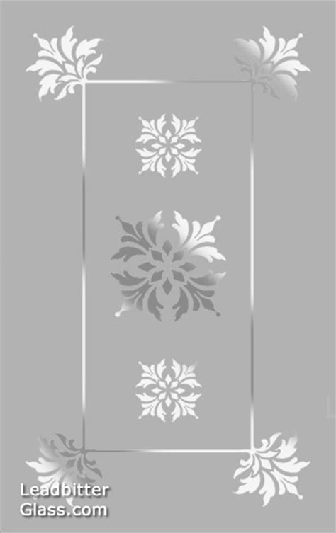 door flower designs traditional floral etched glass design suffolk