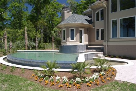 backyard infinity pools backyard infinity pool gardening and outdoor living