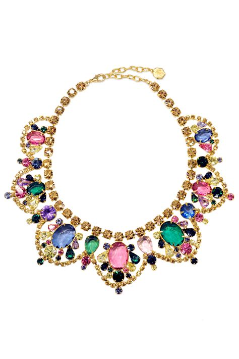 what is jewelry watercolor statement necklace by rj graziano for 30