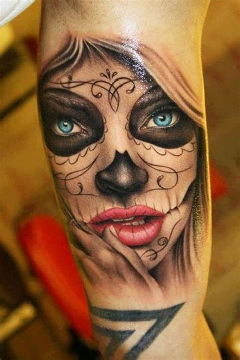 sugar skull best tattoo design ideas