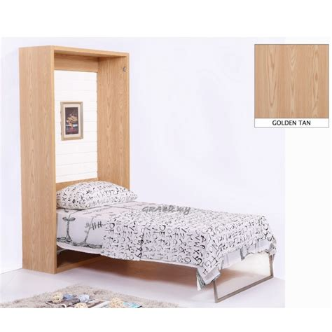 size wall bed vertical wall bed golden single size space