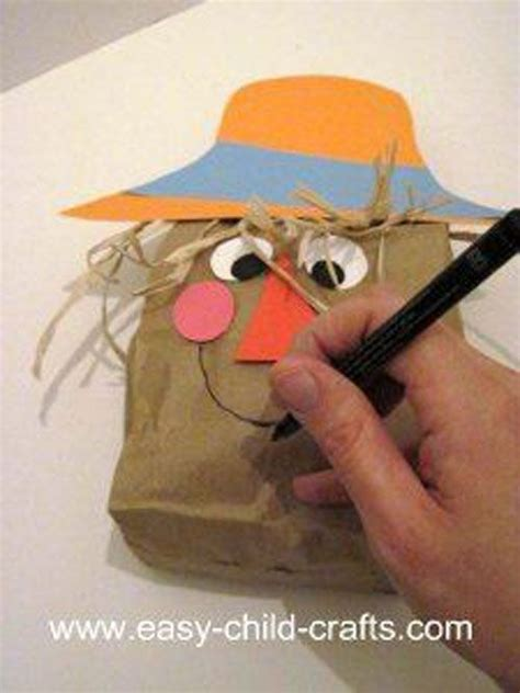 paper bag arts and crafts for 35 unique diy scarecrow ideas for to make this