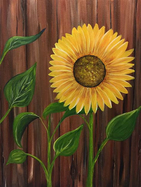 paint nite yerman s the sunflower at carrabba s italian grill germantown