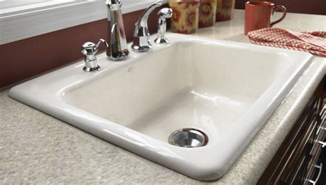 kitchen sink installation install a cast iron sink