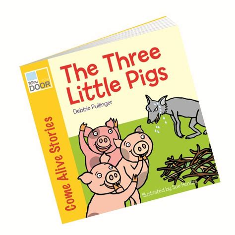 picture book story the three pigs story book class readers and big book