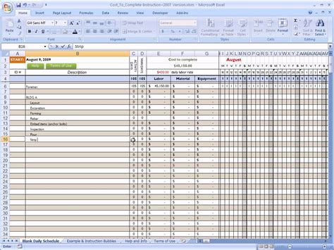Estimating Cost To Build A House cost to complete for construction in excel youtube