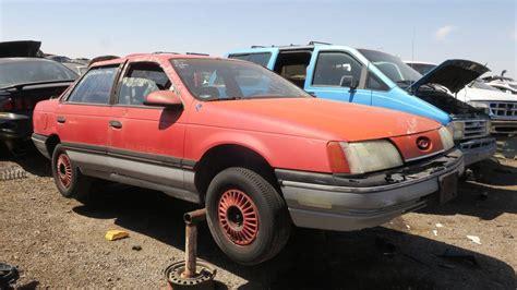 1986 Ford Taurus junkyard treasure 1986 ford taurus mt 5 autoweek