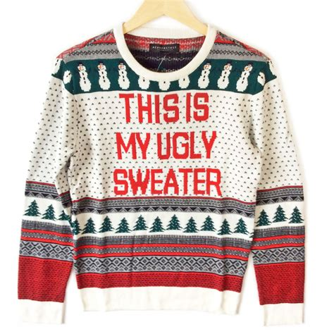 what is an sweater this is my sweater fair isle tacky