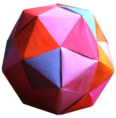 modular origami dodecahedron 30 unit umbrella dodecahedron