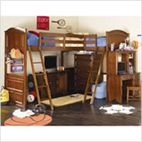 deer run bunk bed lea industries deer run bunk bed