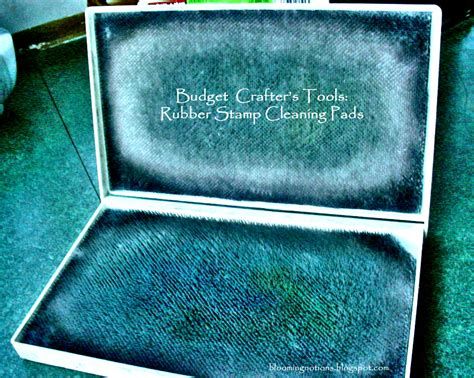 rubber st cleaning pad garden of discovery budget crafter s tools rubber st