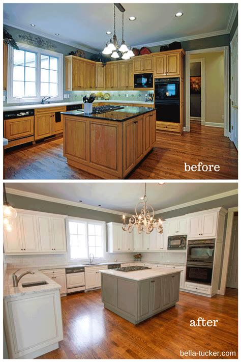 painted cabinets painted cabinets nashville tn before and after photos
