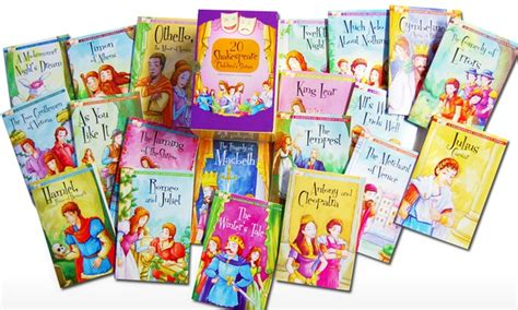 children story books with pictures shakespeare boxed set 20 groupon goods