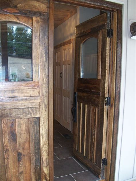 barn front door crafted barn wood front doors and interior door by