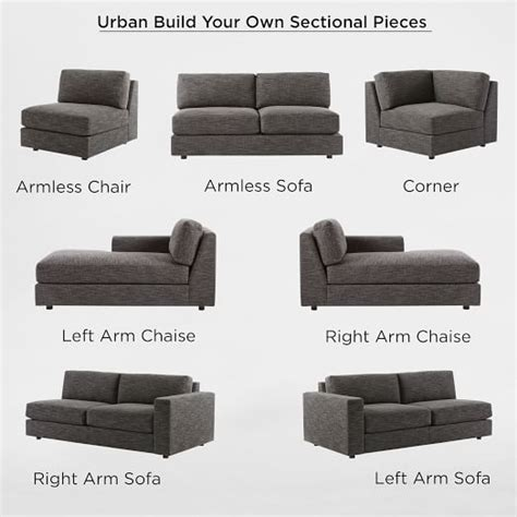 how to build a sectional sofa build your own sectional pieces west elm