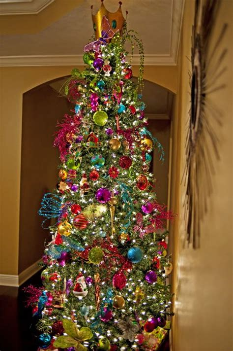 colorful tree decorations 25 unique colorful tree ideas on