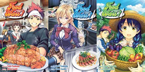 food wars food wars shokugeki no soma vol 1 3 review aipt