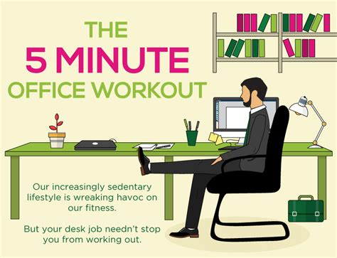 office workouts at desk 5 minute exercise at work everyman healtheveryman health