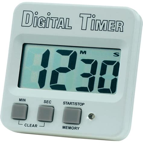 electric timer timer 640532 white black from conrad