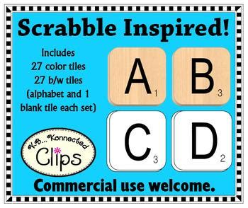 scrabble commercial scrabble inspired letter tiles clip commercial use