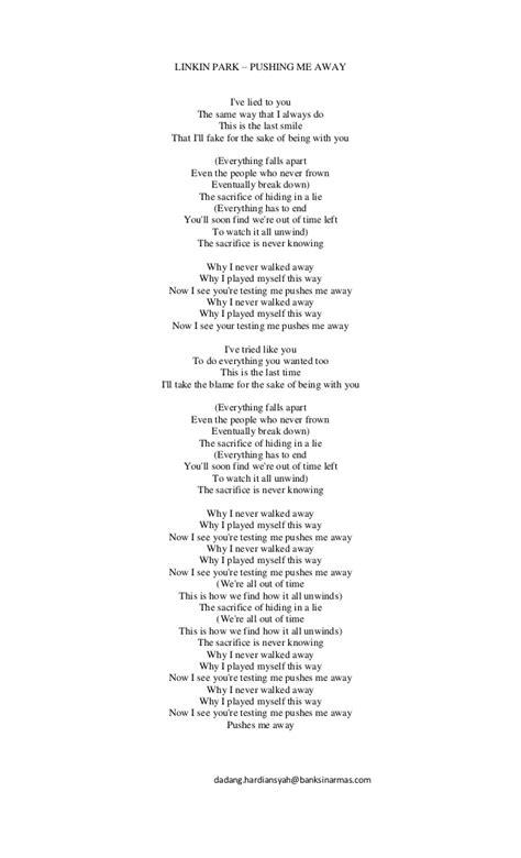 lirik lagu lirik lagu 1