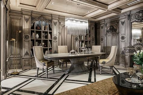 luxury decor neoclassical and deco features in two luxurious interiors