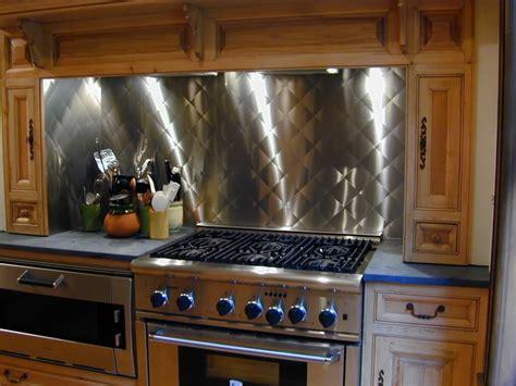 stainless steel kitchen backsplashes stainless steel backsplashes custom