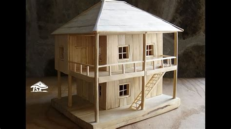 how to make a small house how to make a wooden model house