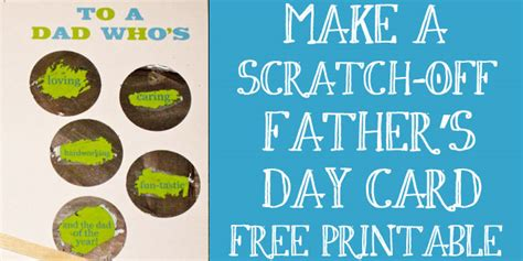 make your own fathers day cards make your own quot scratch quot s day card design dazzle