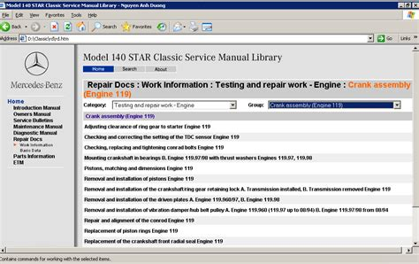 service manual service manual for a 1999 mercedes benz slk class mercedes slk 1998 2004 mercedes benz model 140 170 190 workshop repair service manual quality service manual