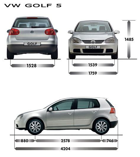 Volkswagen Golf Dimensions by Dimension Golf 7 Volkswagen Golf Interior Dimensions