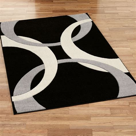 area rugs contemporary modern corfu contemporary black area rugs