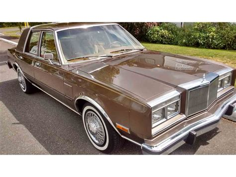 1985 Chrysler 5th Avenue by 1985 Chrysler Fifth Avenue For Sale Classiccars Cc