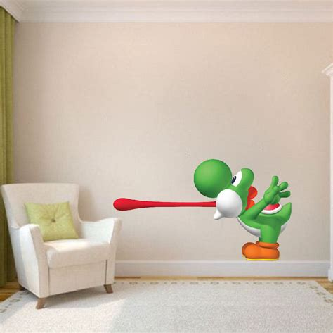mario wall mural yoshi wall decal murals primedecals