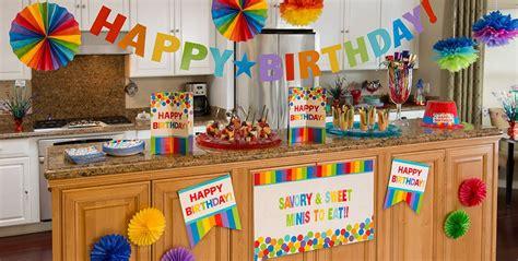 supplies decorations rainbow birthday supplies city