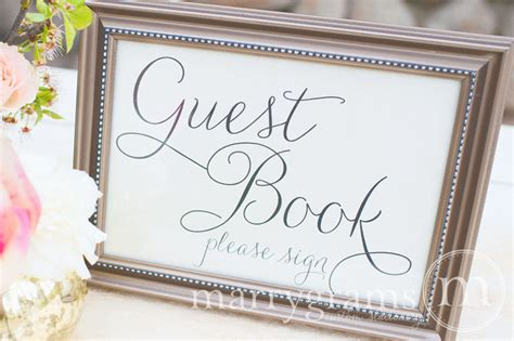 picture guest book wedding guest book table card sign wedding reception seating signage