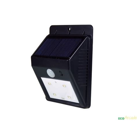 solar pir lights powerplus cat solar pir security courtesy light eco arcade