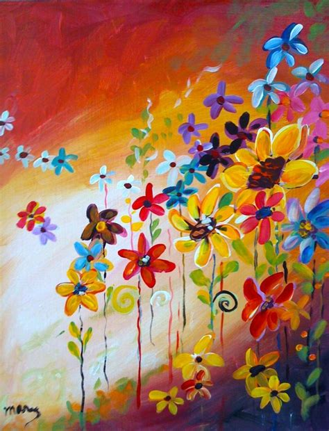 painting with a twist paint used autumn bouquet painting with a twist painting with a