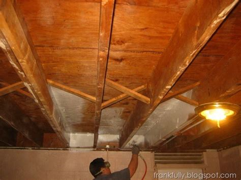 spray painting unfinished basement ceiling frankfully our unfinished basement