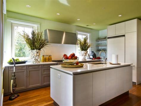 kitchen color ideas pictures painting kitchen ceilings pictures ideas tips from hgtv hgtv